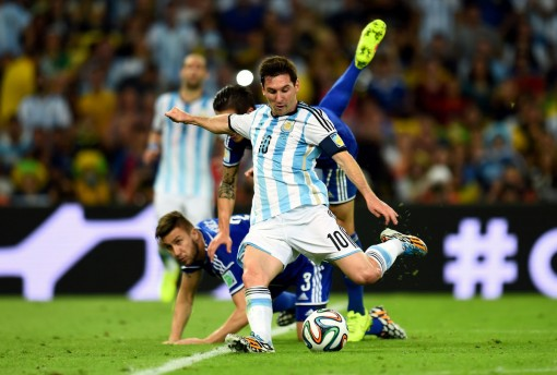Messi finally wakes up and scores his first World Cup goal since 2006