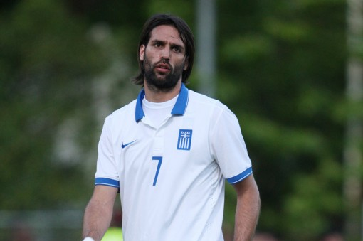 No. No, no, no, no, no, no, no. Greek striker Samaras rues the day.